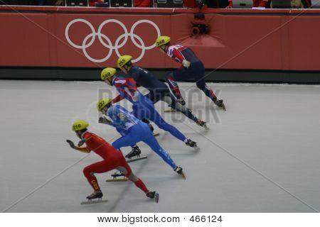 2008 Olympic Short Track Start