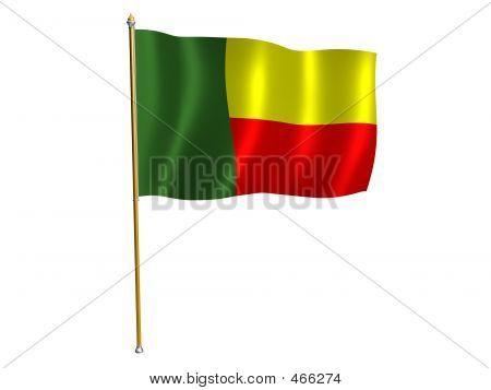 Benini Silk Flag