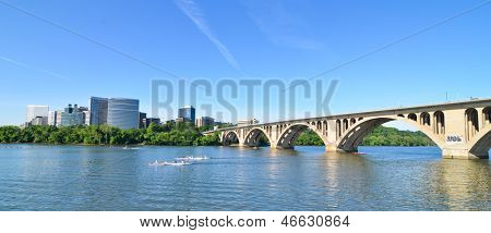 Key Bridge and Rosslyn - Washington DC