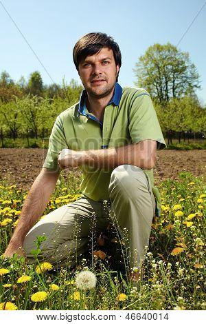 Young Farmer Outdoor