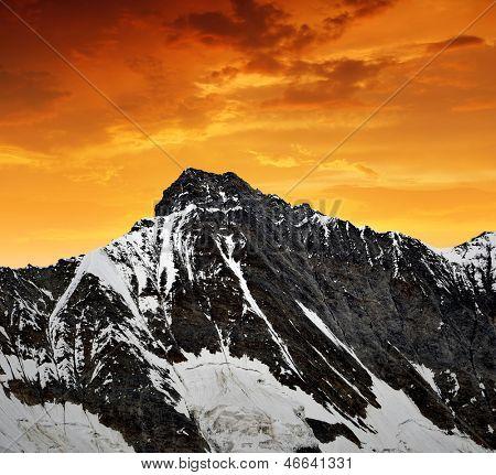 Taschhorn - Swiss alps