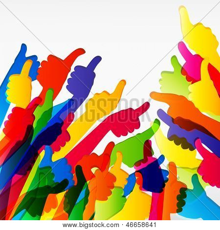 Abstract multicolor background.