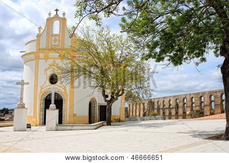 Beautiful Quaint Church In Elvas