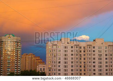 City After Storm