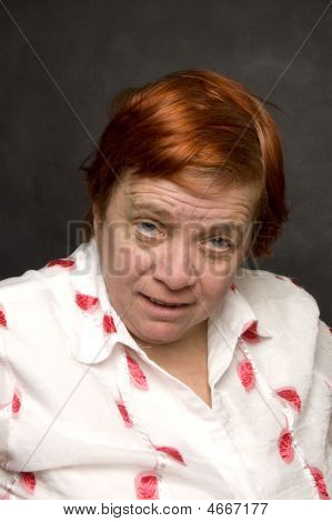 Surprised Grandmother