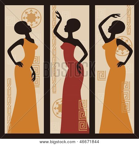 Beautiful African American women.