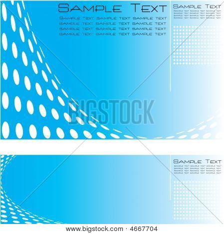 Set Of Three High Quality Template Abstract Background