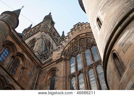 Glasgow University's Towers