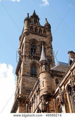 Glasgow University's Bell Tower