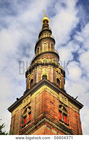 Church of Our Saviour (Danish: Vor Frelsers Kirke) is a baroque church in Copenhagen, Denmark, most famous for its corkscrew spire with an external winding staircase that can be climbed to the top