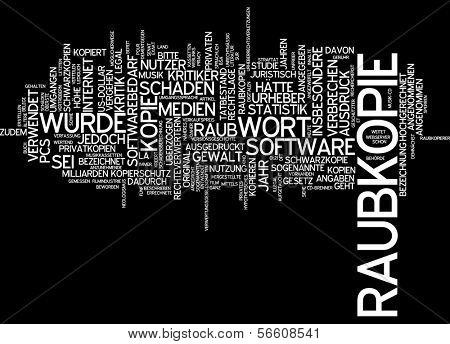 Word cloud - bootleg