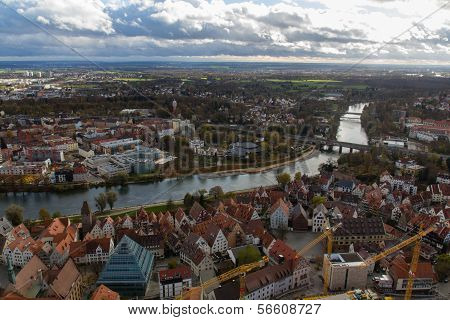 View From The Top Of The Cathedral Of Ulm