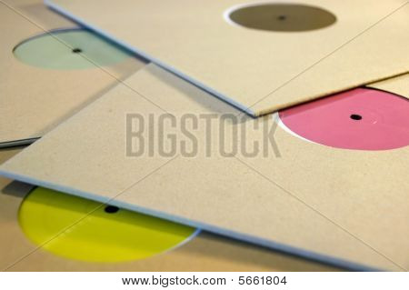 Colorful Vinyl Records