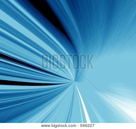 Blue Neon Light