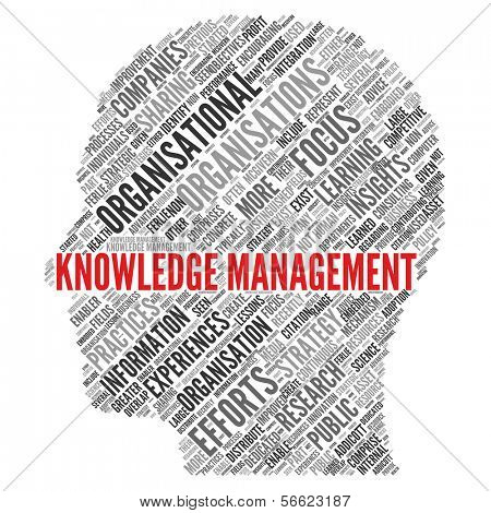 KNOWLEDGE MANAGEMENT poster