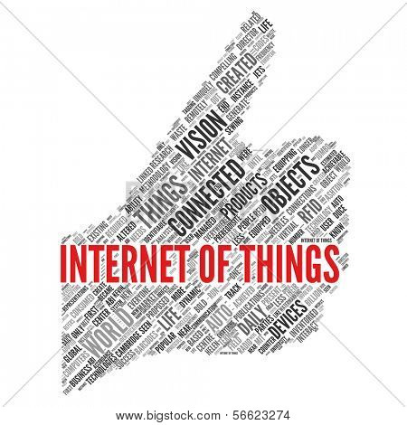 INTERNET OF THINGS  poster