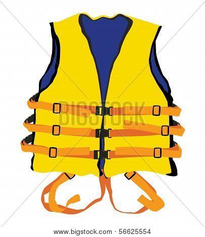 Yellow Life Jacket