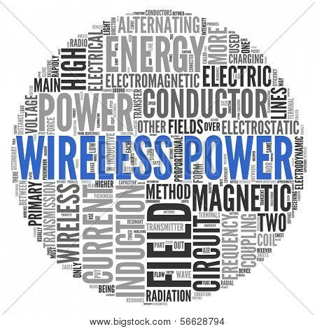 WIRELESS POWER | Concept Wallpaper poster