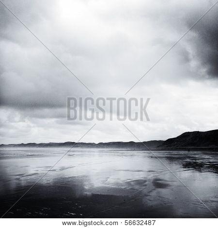Coastline, Raglan, New Zealand