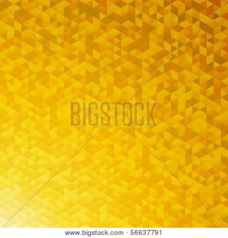 Yellow gold sparkle glitter vector background.Glittering sequins mosaic pattern.