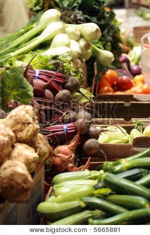 Mixed Veggies at the Farmer's Market