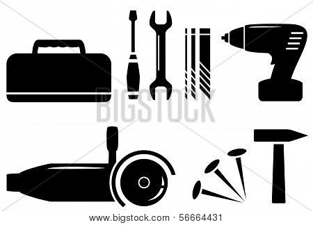 isolated repair tools set