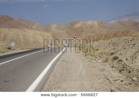 Straight Route In Iran