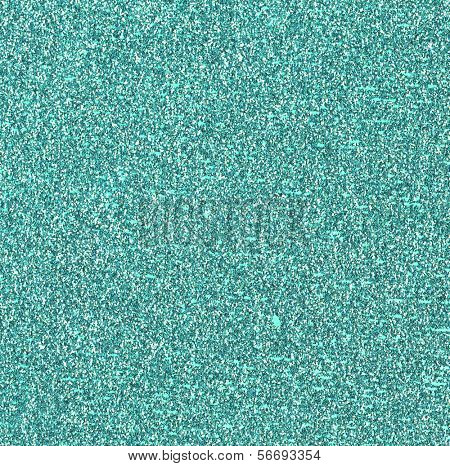 Teal Glitter Background
