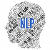 NLP (Neuro Linguistic programming) | Conceptual wallpaper poster