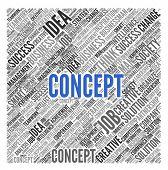 Concept | Conceptual wallpaper poster