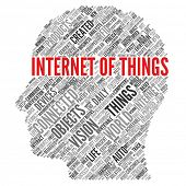 INTERNET OF THINGS | Concept Wallpaper poster
