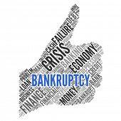 BANKRUPTCY | Concept Wallpaper poster