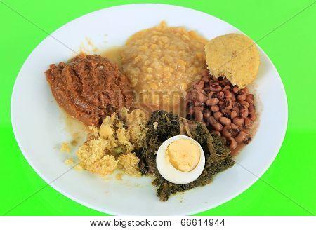 Soul Food Vegetable Plate