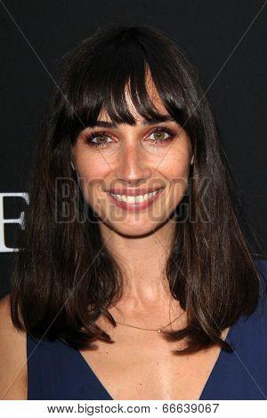LOS ANGELES - JUN 12:  Rebecca Dayan at the