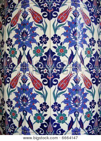 Painted Ceramic Tiles