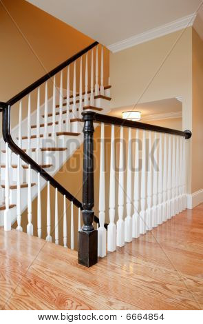 Interior Staircase, New Construction