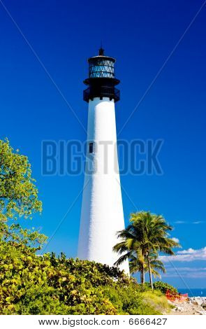 Cape Florida Lighthous