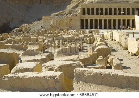 Hatchepsut Temple ruins