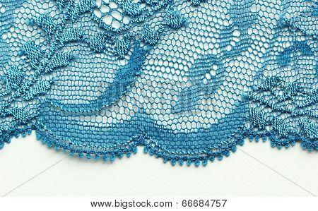 Blue flower material texture macro shot