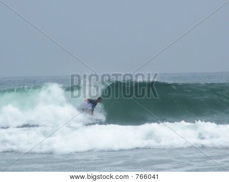 surfing at River Mouth