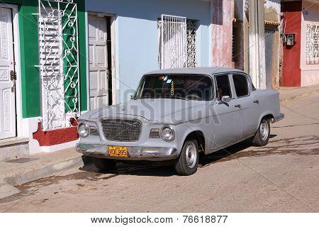 Old Toyota In Cuba