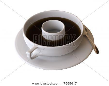 abstract tea time