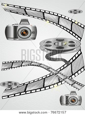 The Camera And The Curled Film