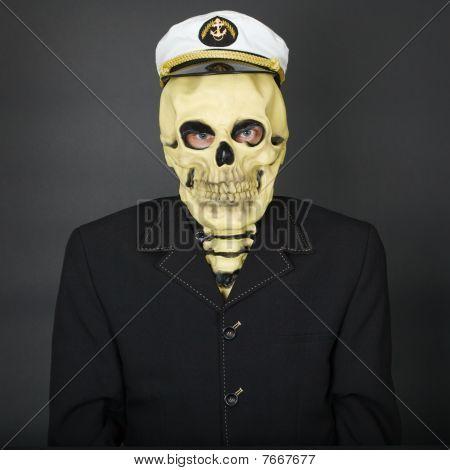 Man - Skeleton In A Naval Cap
