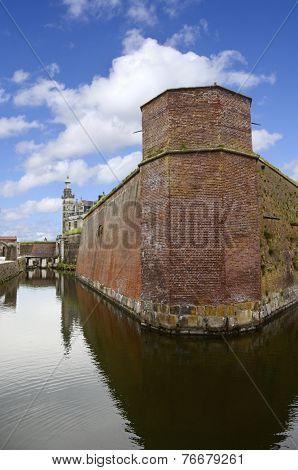 Hamlets Castle or Kronborg Castle Helsingor Denmark poster