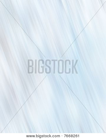 paint streaks on a soft blue background poster