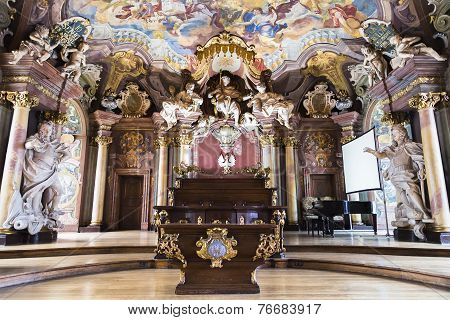 Chair Of The Assembly Hall Leopoldina
