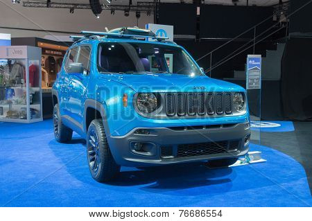 Jeep Renegade Riptide 2015 On Display