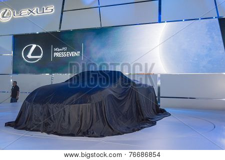 Lexus  Press Conference To Debut Car On Display