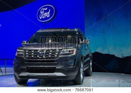 Ford Explorer 2015 On Display